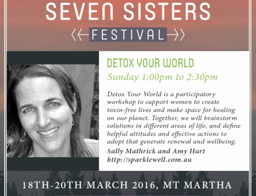 Detox Your World Workshop – At Seven Sisters Festival