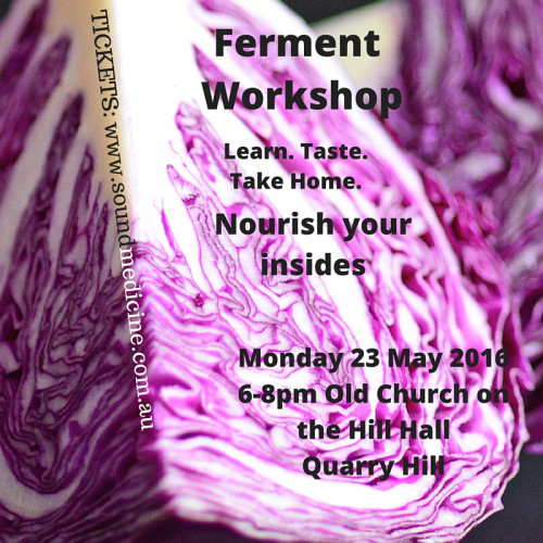 Ferment Workshop Bendigo