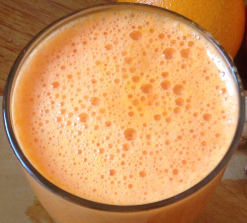 Orange bubbles Sound Medicine
